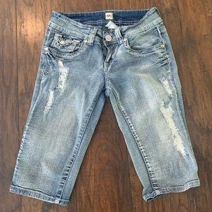 H2j Bermuda Denim Jeans